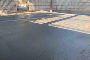 駐車場増設(造成・コンクリート土間)