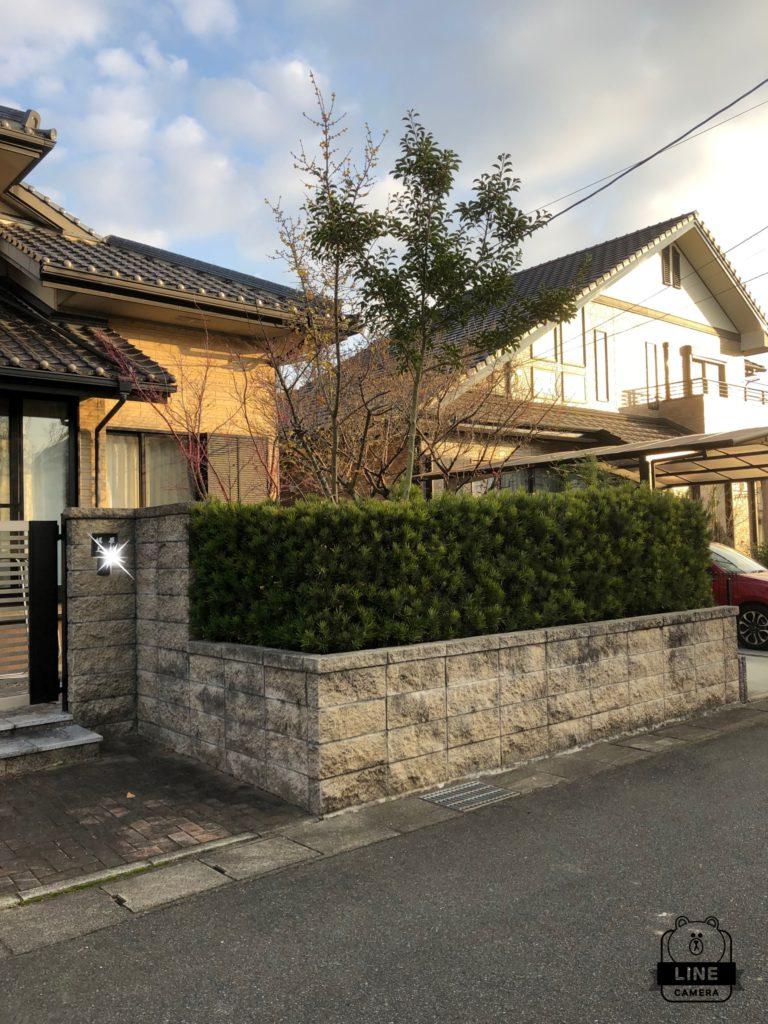 外構工事 駐車場拡張工事👷♂️久留米市 K様邸
